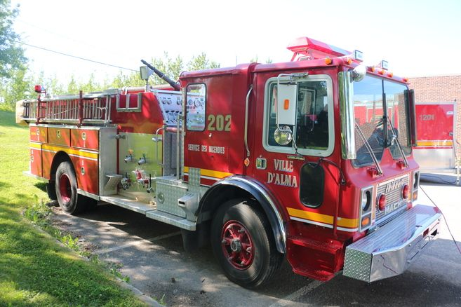 Site des pompiers du Québec sur Facebook