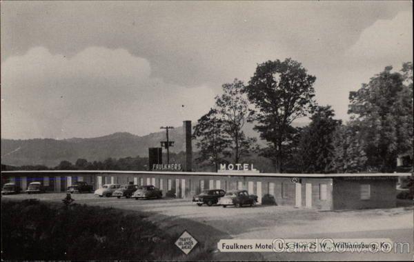 williamsburg kentucky   Faulkners Motel Williamsburg Kentucky