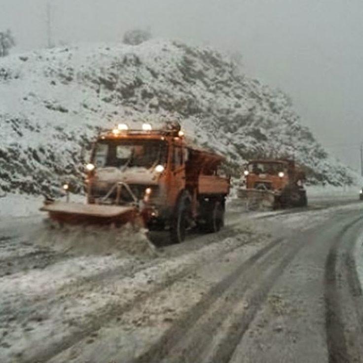 ΑΤΑΛΑΝΤΗ: Χιονίζει στη Φθιώτιδα, σε επιφυλακή η τροχαία