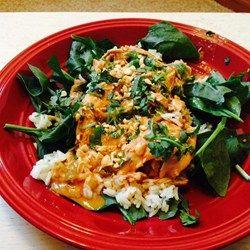 Frank's Favorite Slow-Cooker Thai Chicken - Allrecipes.com