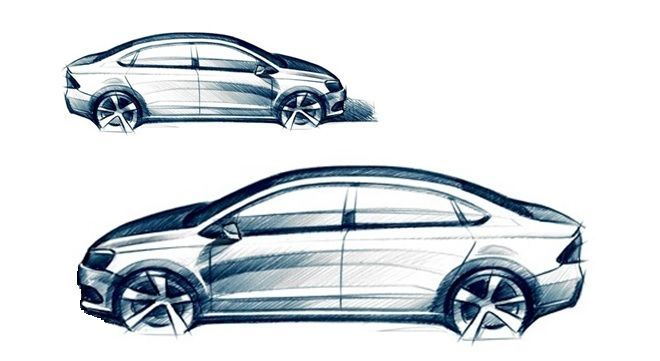 Nice Volkswagen 2017: Next generation Volkswagen Polo sedan takes shape , Car News - K4car.com... Car24 - World Bayers Check more at http://car24.top/2017/2017/04/10/volkswagen-2017-next-generation-volkswagen-polo-sedan-takes-shape-car-news-k4car-com-car24-world-bayers/