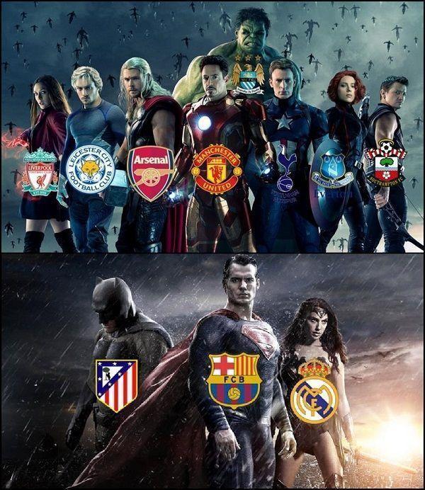 Tak wygląda obecnie rywalizacja w najlepszych ligach piłkarskich na świecie • Premier League vs Liga BBVA w tym sezonie • Zobacz >> #football #soccer #sports #pilkanozna
