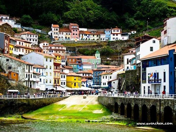 Cudillero, Asturias, Spain. It´s a small but nice fish town.