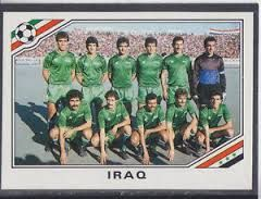 world cup panini mexico 86 - Iraq