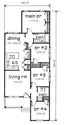 1000 ideas about bungalow house design on pinterest for 1925 bungalow floor plan