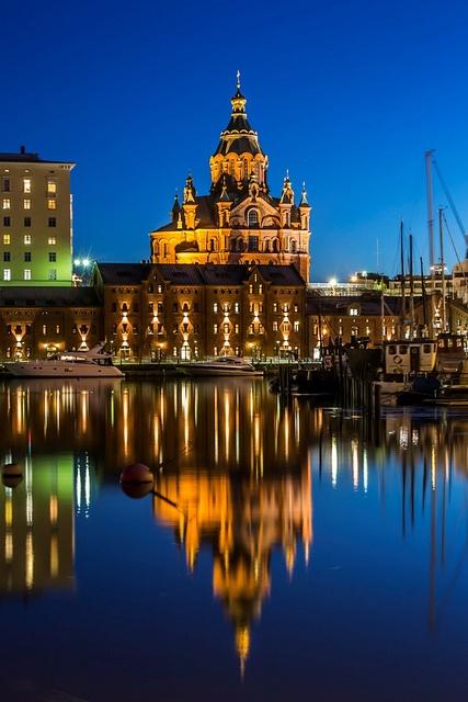 Uspenski cathedral, Helsinki, Finland