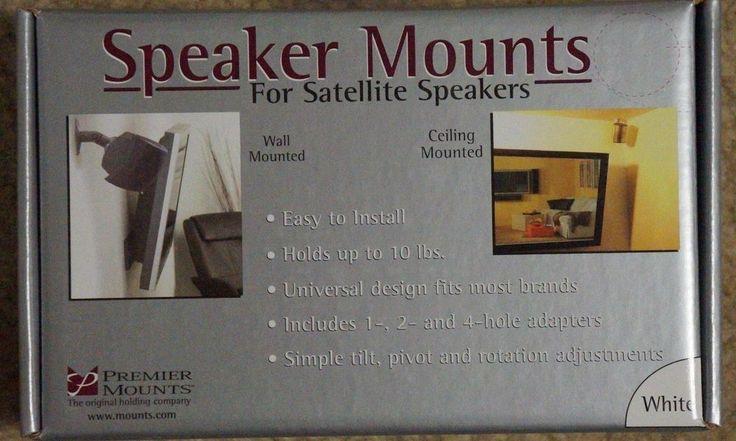 PREMIER MOUNTS SPEAKER MOUNTS FOR SATELLITE SPEAKERS #premier
