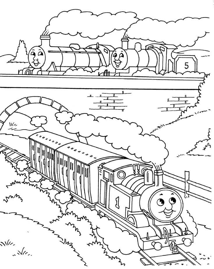 thomas the train and his friends coloring pages thomas the train