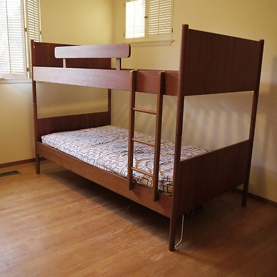 Reduced Modern Danish Teak Westnofa Norway 1950s Twin Bunk Beds Rare Piece Ebay Mid Century In 2018 Pinterest And
