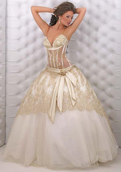 28 best Extravagant Wedding Dresses images on Pinterest Marriage