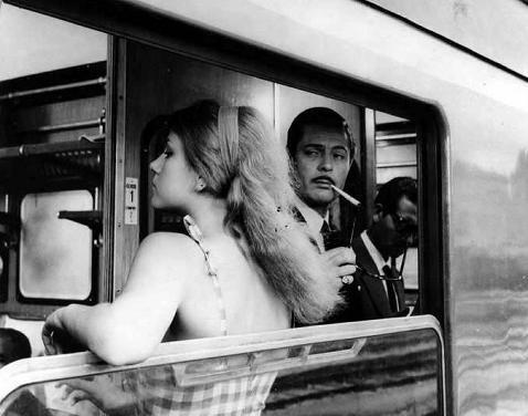 Marcello Mastroianni and Stefania Sandrelli - Divorzio all'Italiana (Divorce, Italian Style) - directed by Pietro Germi -  1961