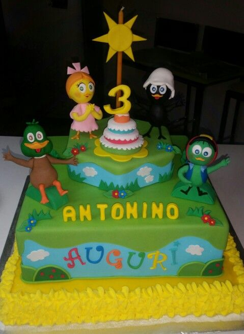 Calimero e i suoi amici cake