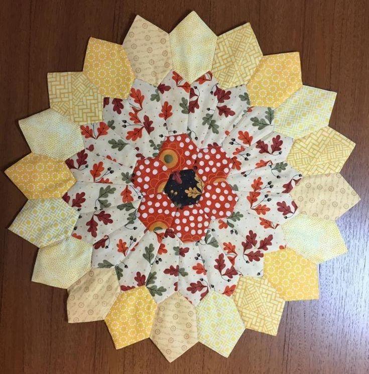 Sunburst Table Topper | Craftsy