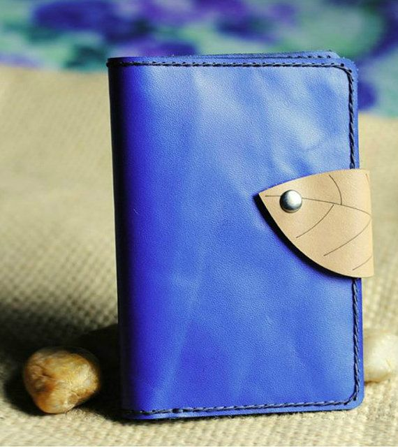 Passport Wallet Leather Personalized Leather by Alicehandmadeworld