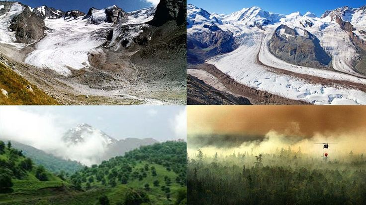 Clear Evidence of Climate Change Also Seen in Rocks, Mountains And Forest