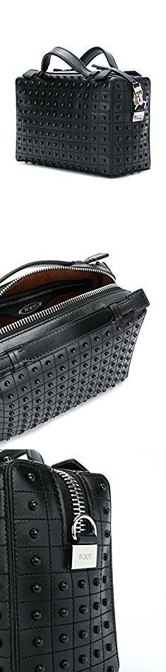 Tods Bags. Tod's Women's Xbwdonh9100xmab999 Black Leather Shoulder Bag.  #tods #bags #todsbags
