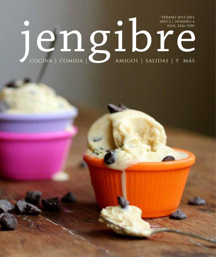 Revista Jengibre n4  Verano 2013 - 2014