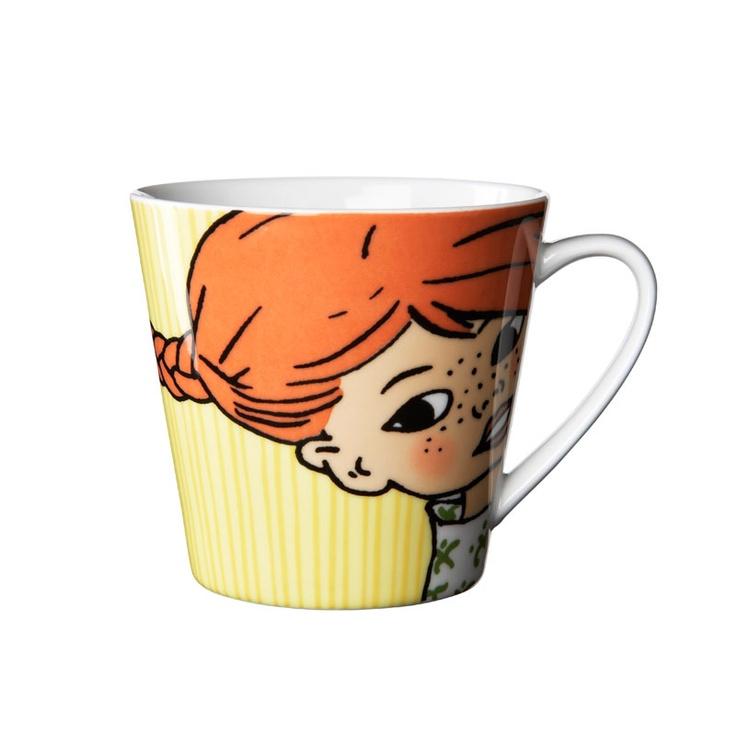 Rörstrand Mug: Pippi Longstocking