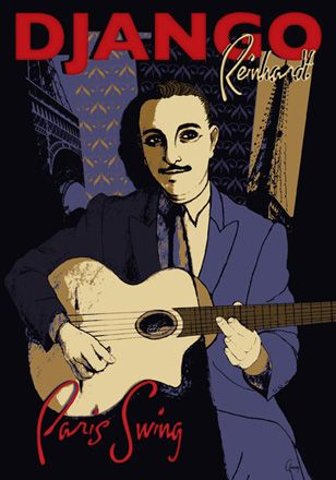 23 best images about django reinhardt on pinterest. Black Bedroom Furniture Sets. Home Design Ideas