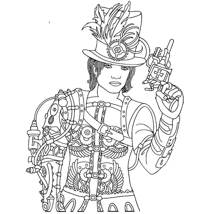 cool medium difficulty coloring pages - photo#15