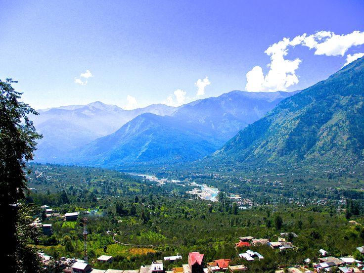 Naggar, the royal capital of Kullu Valley