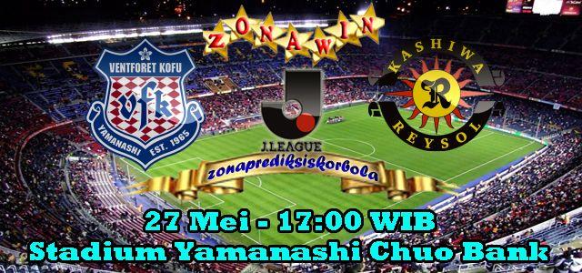 Prediksi Ventforet Kofu vs Kashiwa Reysol 27 Juni 2015
