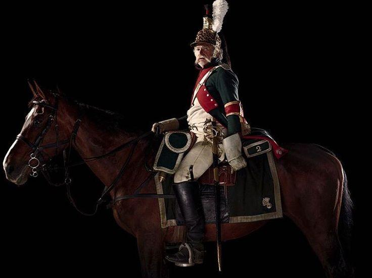 Officer, 2e Régiment de Dragons, Aide-de-Camp d'un Géneral de division, France by @faulknerphotog #Waterloo #1815 #Wellington #Napoleon #Belgium #Prussia #BattleofWaterloo #France #History #Photograph #Unseenwaterloo #cavalry #horse