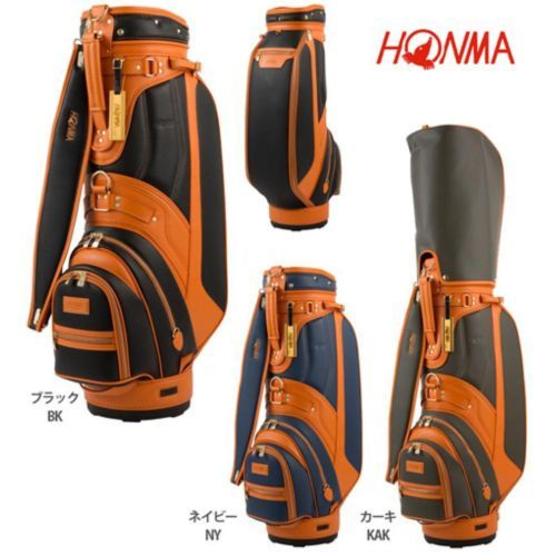 Honma Japan Golf Carry Caddy Bag 9.0inch CB-1612 NEW Model 2017 EMS