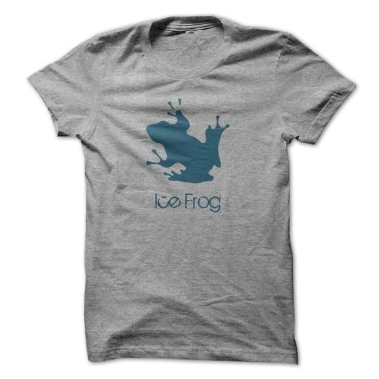 Ice Frog (Limited Edition) LIMITED TIME ONLY. ORDER NOW if you like, Item Not Sold Anywhere Else. Amazing for you or gift for your family members and your friends. Thank you! #Frog #Shirts