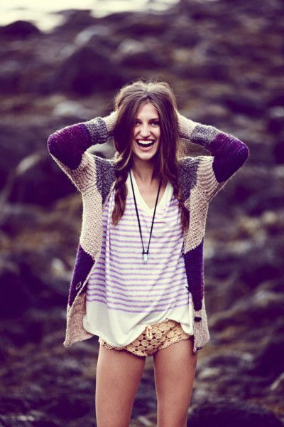 Sweaters that Take the Heat... sweaters for spring and summer