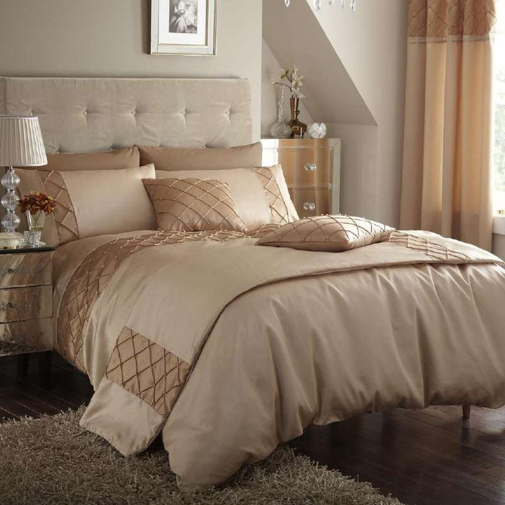 Gold Bedding Silk And Pearls On Pinterest