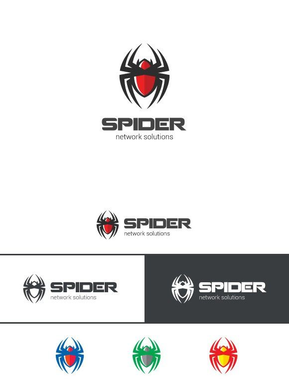 Spider Logo web spy technology. Logo Templates. $23.00