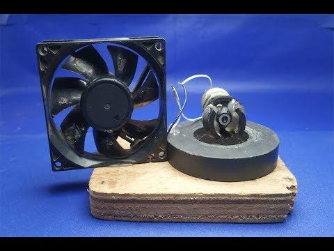 68afdbc31b0 100% Free Energy fan Device work 100% - using Magnet Exhibition Projects  2018