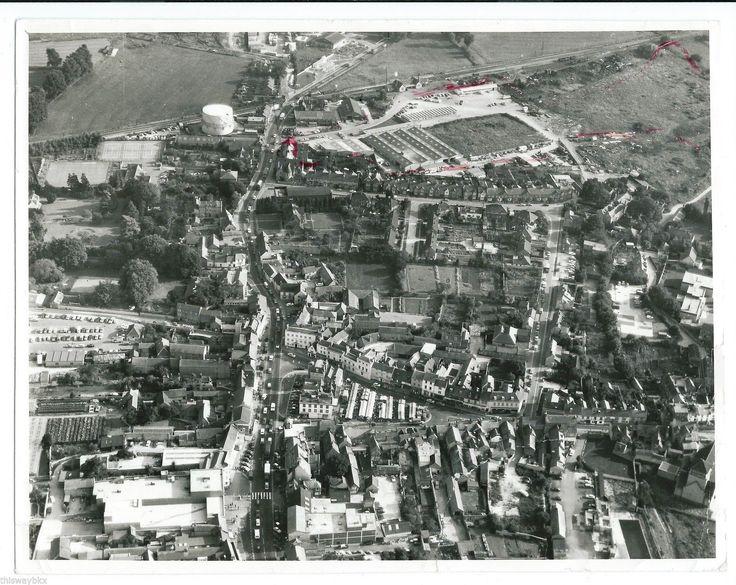 BICESTER TOWN RAILWAY STATION c1972 aerial photo vintage Aerofilms   eBay