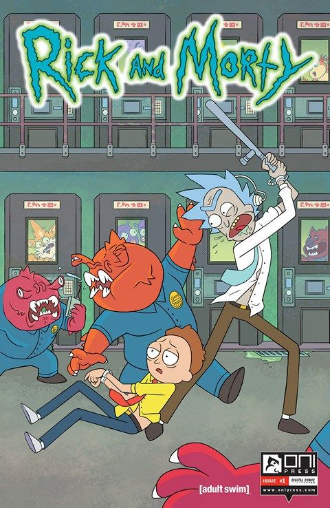 Year : 2015-2017 | Size : 968 MB  Dan Harmon & Justin Roiland's hilarious hit Adult Swim animated show RICK & MORTY now has its own comic book series from Oni Press!