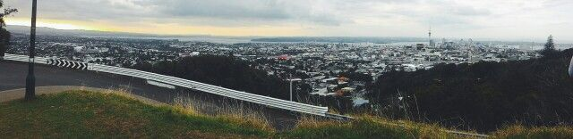 View of Auckland City from Mount Eden