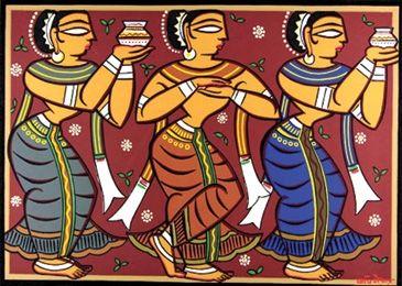 Jamini Roy resides, in imitation, all around us