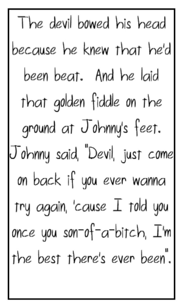 """the devil went down to georgia In may 1979, the charlie daniels band added a rural twist with the release of """" the devil went down to georgia"""" the single, with mr daniels's."""