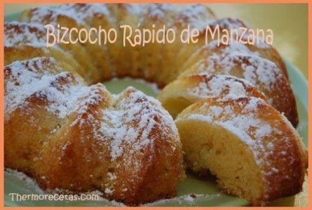 Bizcocho Rápido de Manzana ☂ᙓᖇᗴᔕᗩ ᖇᙓᔕ☂ᙓᘐᘎᓮ http://www.pinterest.com/teretegui