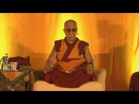 J. S. DALAJLÁMA - o své duchovní praxi a rady začátečníkům - YouTube