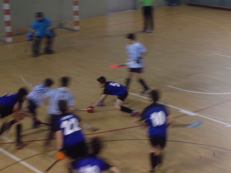 Final Campionat de Catalunya de Hockey Sala Infantils B: Club Egara 2-1 Junior FC