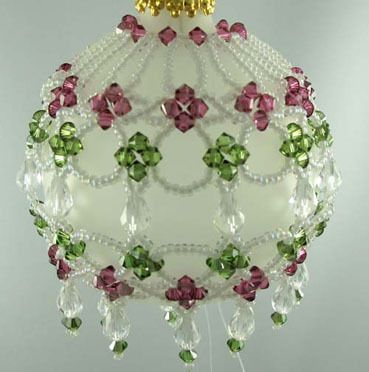free beading patterns and instructions christmas bulbs | BEADING ORNAMENT PATTERNS « Free Patterns