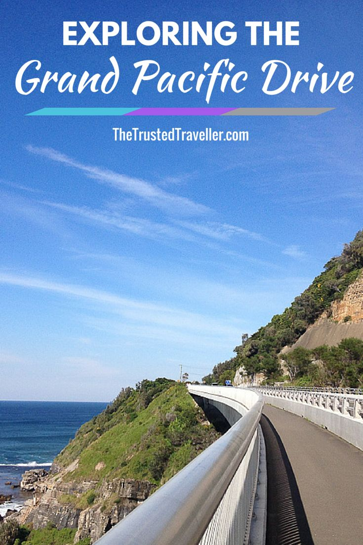 The Sea Cliff Bridge on the NSW South Coast of Australia - Exploring the Grand Pacific Drive - The Trusted Traveller