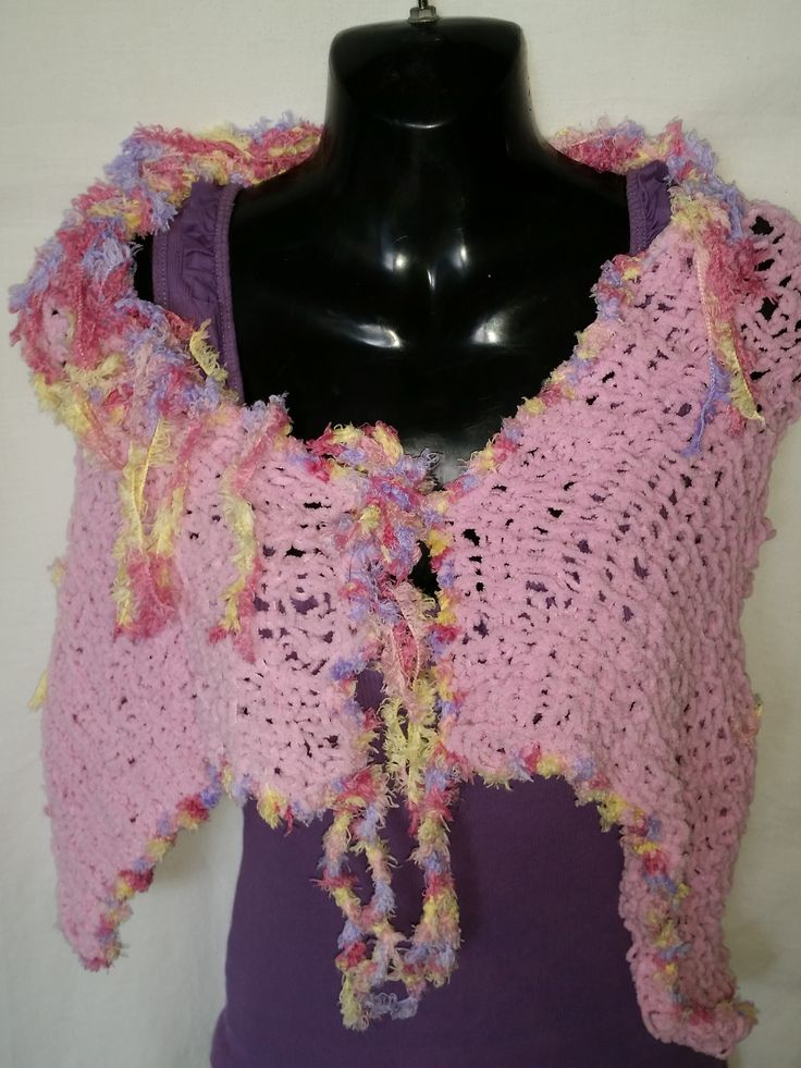 this is my New Knitted Shawl that I have just finished that I will be selling