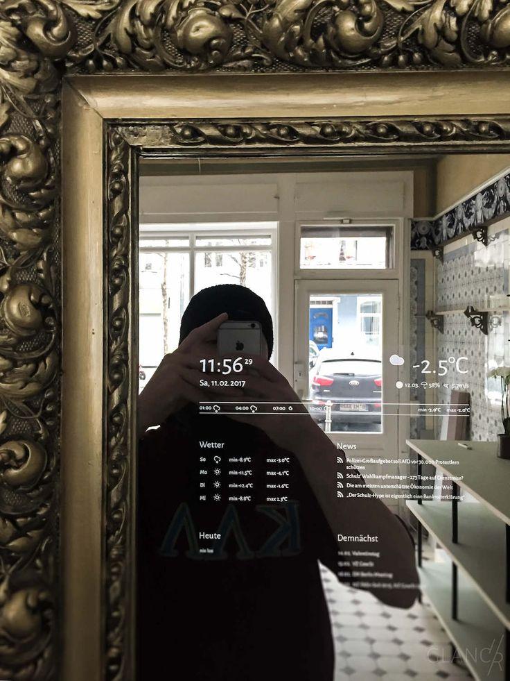 Wer sich einen Smart Mirror selbst bauen möchte, kommt früher oder später zur…Dallin Walkenhorst