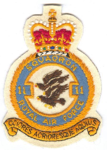 11 Squadron RAF crest