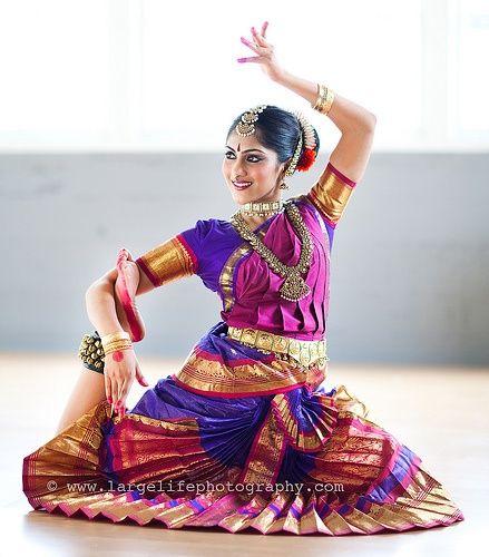 Bharat Natyam pose