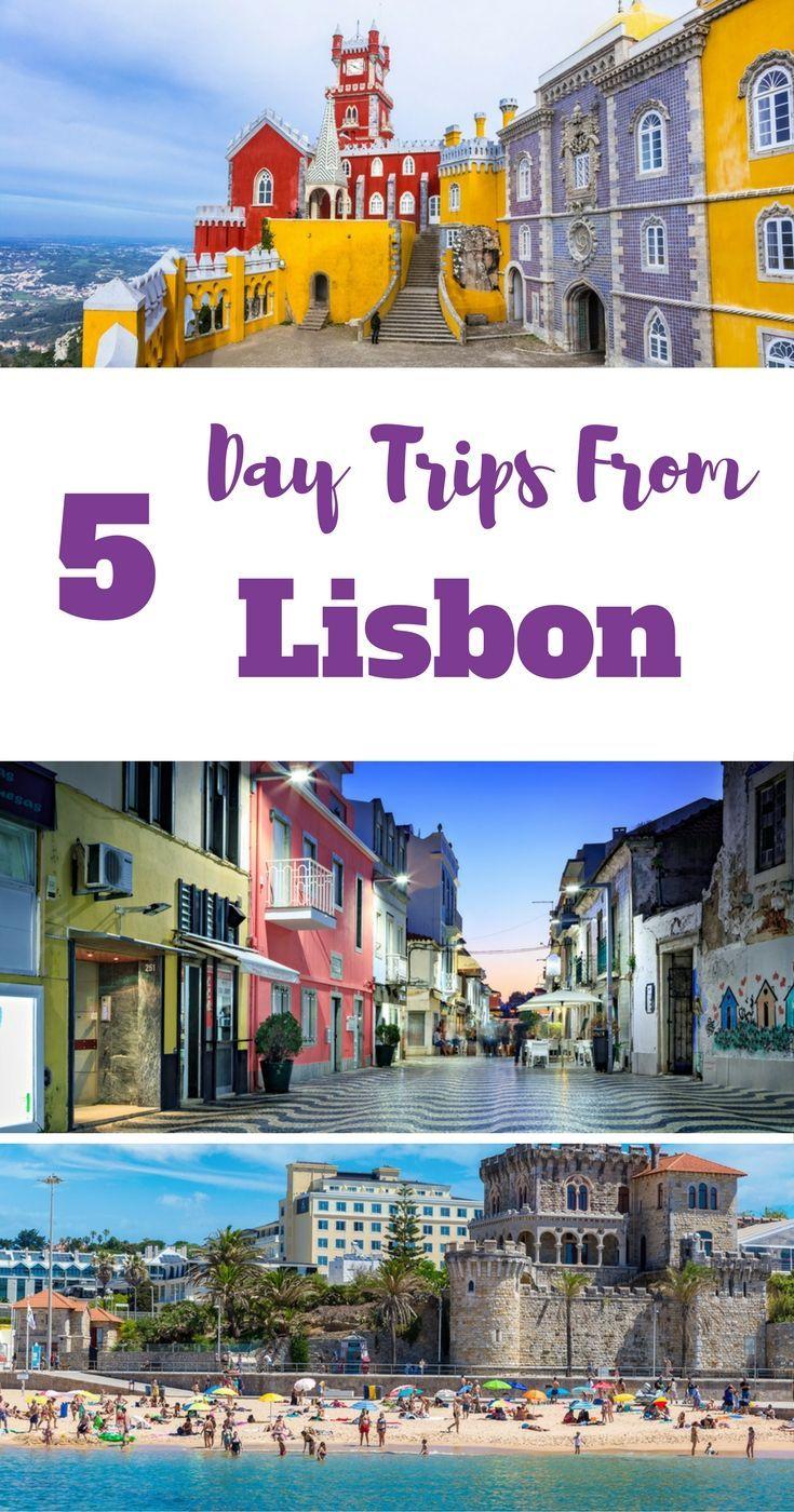5 Day Trips from Lisbon. Portugal. E.g. Sintra, Cascais, Estoril,