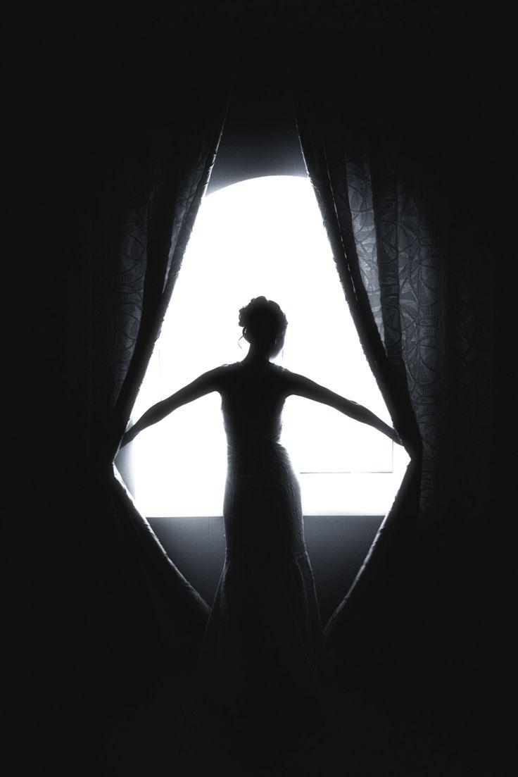 Как сфотографировать силуэт напротив окна