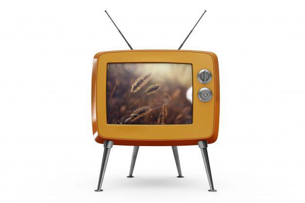 Free Retro Tv Plus Antenna Mockup In Psd Retro Tv Antenna Mockup Psd Retro Tv Computer Mockup Retro